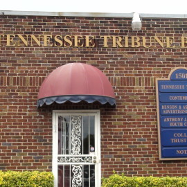 The Tennessee Tribune headquarters in Nashville, TN (Photo By: Jason Luntz/Full Sail University)